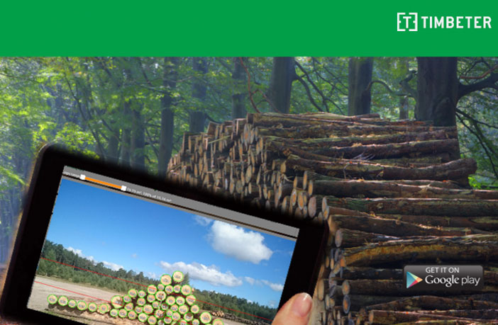 Timbeter, the new app for wood measurements